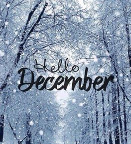 Hello December! There's a lot going on at Hopkins this month!