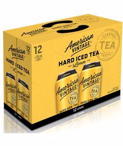 AMERICAN VINTAGE LEMON HARD ICED TEA 4260ml
