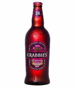CRABBIE'S RASPBERRY ALCOHOLIC GINGER 500ml