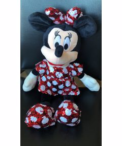 Plush Toys Sequined Minnie