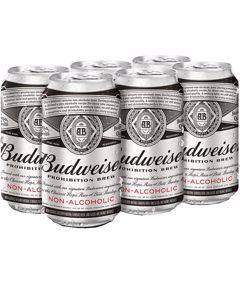 6C Budweiser Prohibition Brew 2130ml