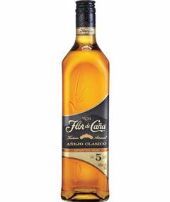 Flor De Cana Black Label 5 Year Old 750ml