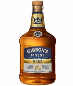 GIBSON'S FINEST RARE 12 YEAR OLD 750ml
